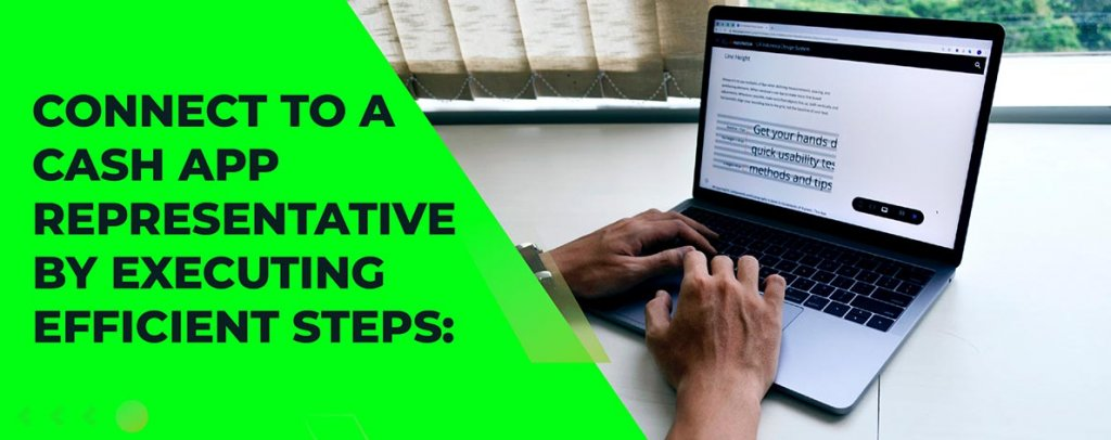Connect to a cash App representative by executing efficient steps:
